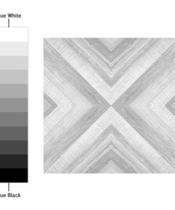 Azulejo Geométrico Desenho em Carvão Autocolante - Espectro de Cores