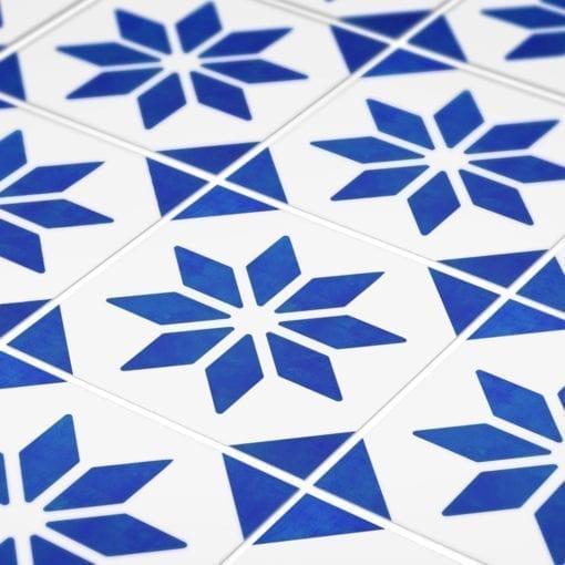 Azulejo Italiano Tradicional Autocolante - Detalhes