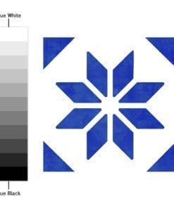 Azulejo Italiano Tradicional Autocolante - Espectro de Cores