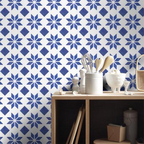 Azulejo Italiano Tradicional Autocolante - Parede