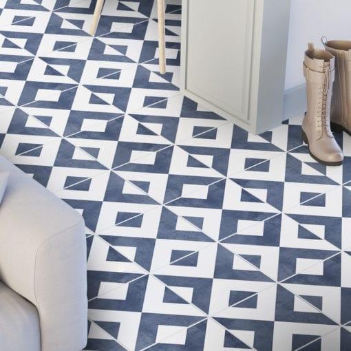 Azulejo Marroquino Tradicional Autocolante - Chão