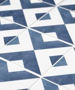 Azulejo Marroquino Tradicional Autocolante - Detalhe