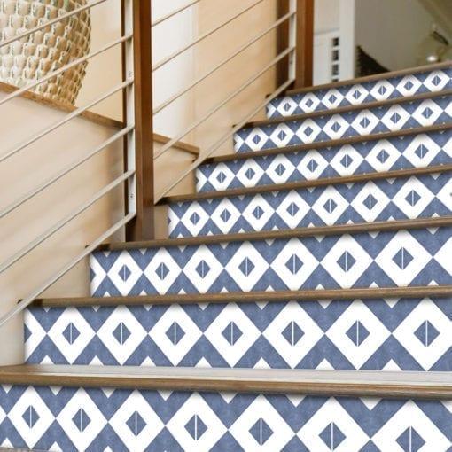 Azulejo Marroquino Tradicional Autocolante - Escadas