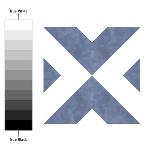 Azulejo Marroquino Tradicional Autocolante - Espectro de Cores