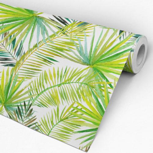 Folhas de Palmeira Decoração Tropical - Rolo
