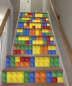 Lego Azulejos Autocolantes - Escadas