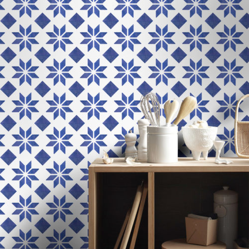 Azulejo Italiano Tradicional autocolante