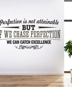 Catch Excellence em Vinil Decorativo