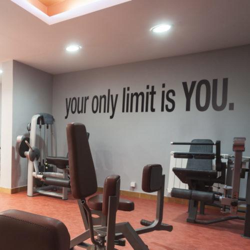 Your Only Limit Is You em Vinil Autocolante