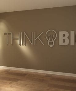 Think Big 3D Decoração de Escritório