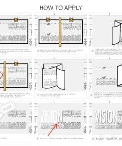 Vision & Values Decoração Escritório 3D - Aplicar