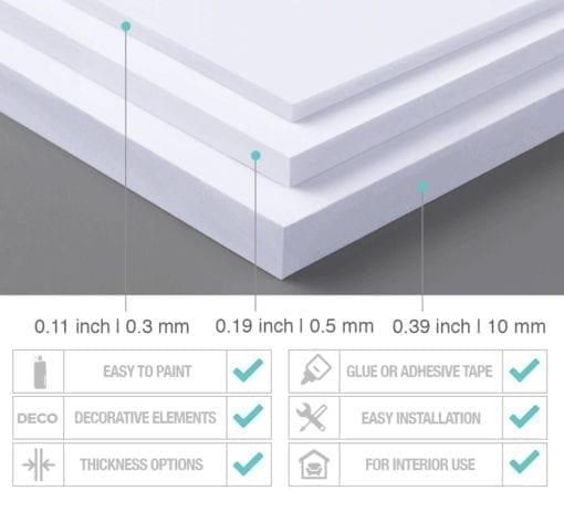 Vision & Values Decoração Escritório 3D - PVC