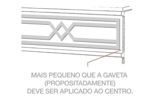 Padrão Évora para MALM Kits Detalhe
