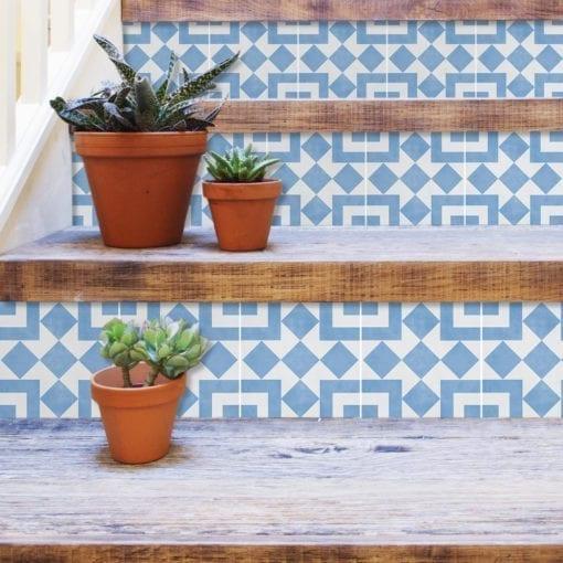 Azulejo Autocolante Cádiz - Escadas