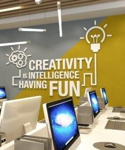 Intelligence Having Fun Decoração Escritório