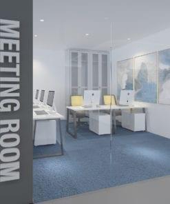 Meeting Room Decoração Escritório 3D