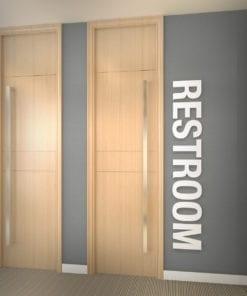 Restroom Decoração Escritório 3D