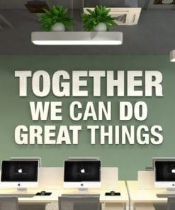 Together Decoração Escritório 3D