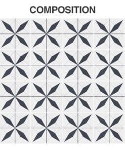 Azulejo Autocolante Marroquino - Composição