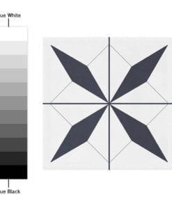 Azulejo Autocolante Marroquino - Espectro de Cores