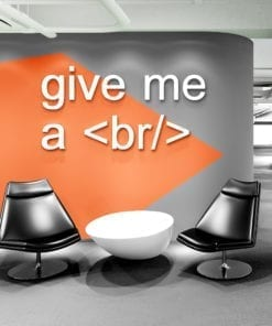 Give Me A Break Decoração Escritório 3D