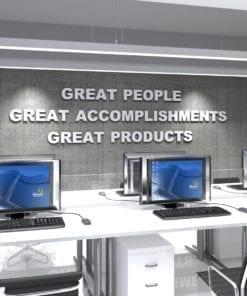 Great People Decoração Escritório 3D